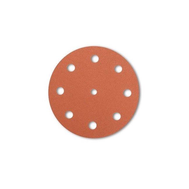 Disque auto-adhésif 150mm 17 trous pour réparer de Velcro plateau de ponçage DFS